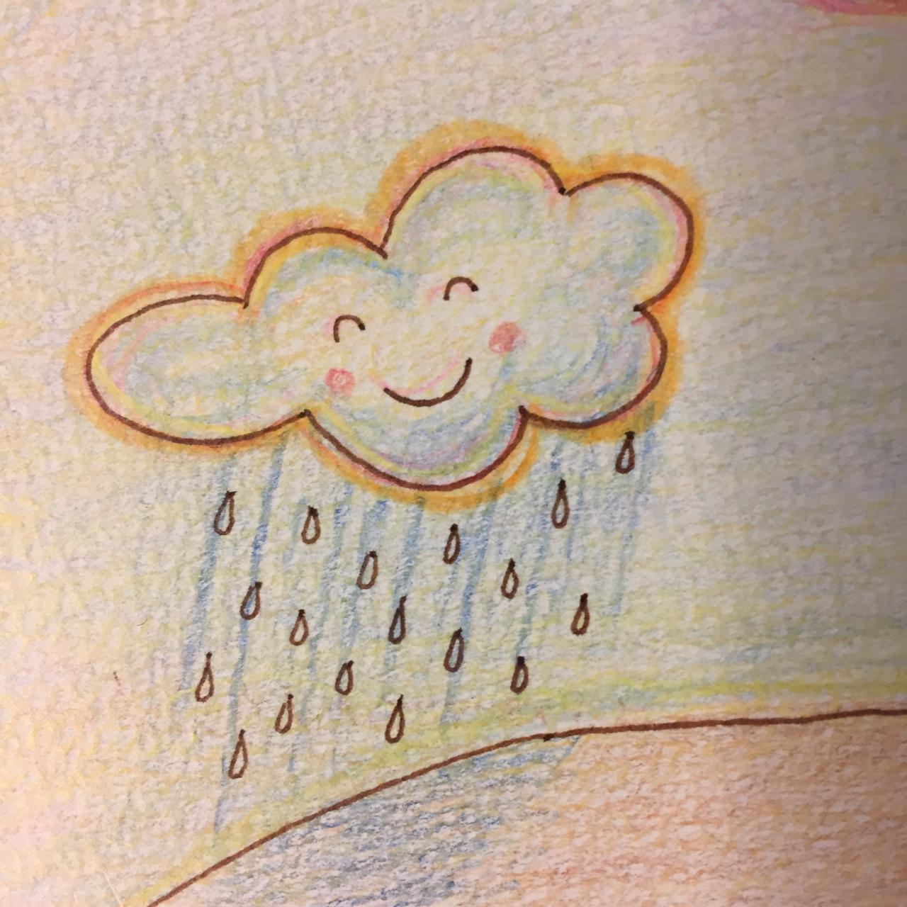 雨のカット